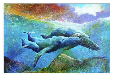 Painting - Whale Watch by David Maynard