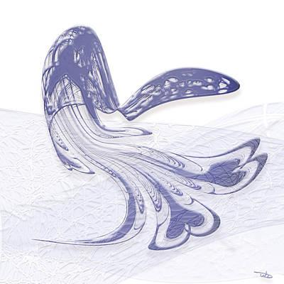 Wall Art - Digital Art - Whale Watching by Warren Lynn