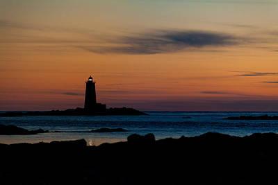 Photograph - Whaleback Light by Robert Clifford