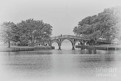 Digital Art - Whalehead Club Bridge Corolla  by Randy Steele