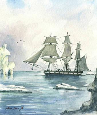 Whaler Art Print