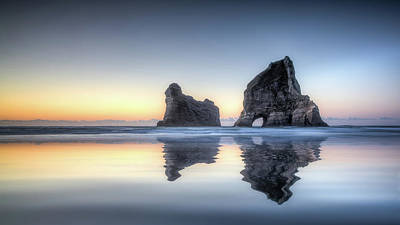 Photograph - Wharariki by Brad Grove