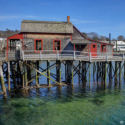 Photograph - Wharf House by John Meader
