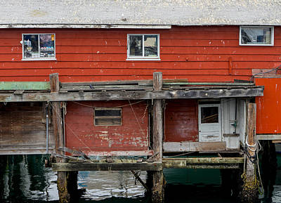 Photograph - Wharf Shack by Derek Dean