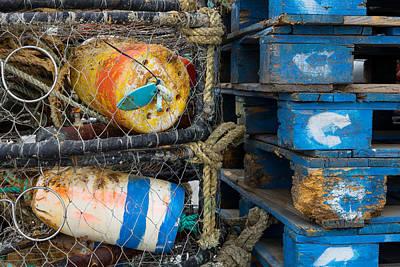 Photograph - Wharf Stuff by Derek Dean