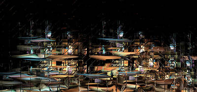 Newts Digital Art - Wharves by Phil Sadler