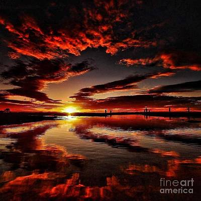 Digital Art - What a sunrise by James Weatherly