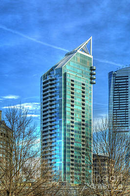 Photograph - What A View Buckhead Grand 5 Star Living Atlanta Architectural Art by Reid Callaway