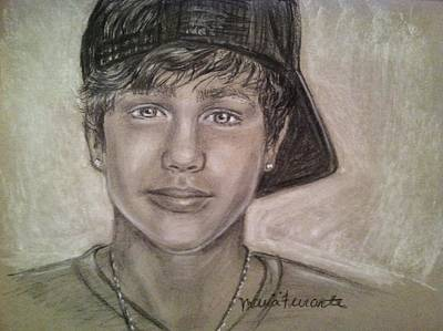 Austin Drawing - What About Love by Maria Ferrante