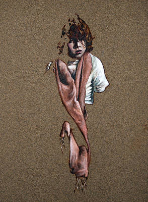Painting - What Becomes Of All The Little Boys Who Never Comb Their Hair? by Greg Kuppinger