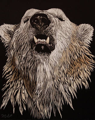 Painting - What Big Teeth by Margaret Sarah Pardy
