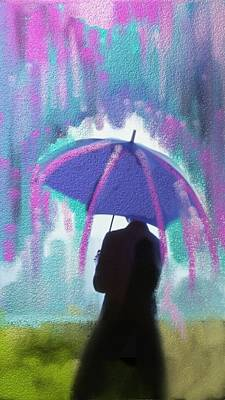 What Color Is The Rain Art Print