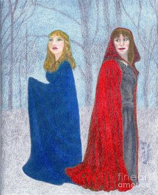 What Danger Lurks Art Print by Ronine McIntyre