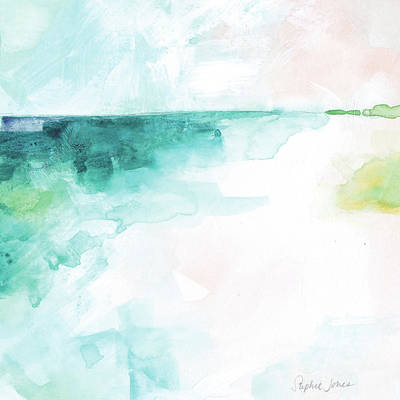 Beach Umbrellas Wall Art - Painting - What Day Is It? by Stephie Jones