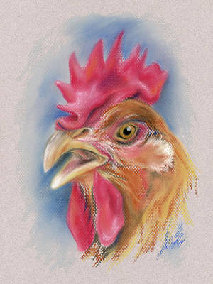 Pastel - What Did The Hen Say? by MM Anderson