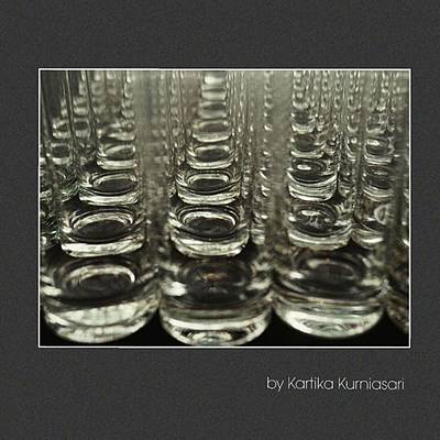 Glass Art Photograph - Empty by Kartika Kurniasari
