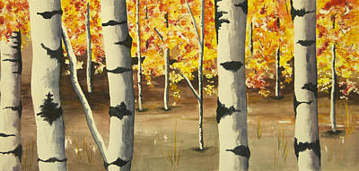 Wall Art - Painting - What Forrest? by Terry Arroyo Mulrooney