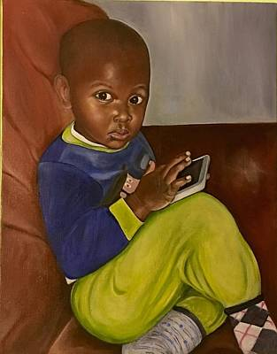 Painting - What? by Gwendolyn Frazier