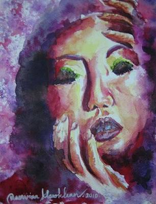 Painting - What Happens To My Mind  by Wanvisa Klawklean