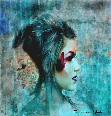 Digital Art - What I Have Become by Riana Van Staden
