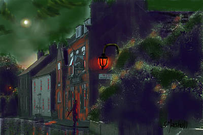 Painting - What If Grimshaw Came To Kilham by Glenn Marshall