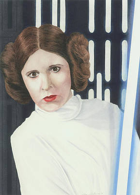 Painting - What If Leia...? by Cory Calantropio