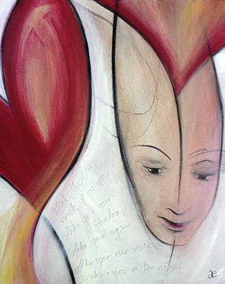 Painting - What If Love by Anna Elkins
