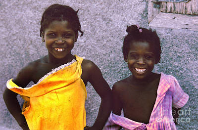 Haitian Photograph - What If They Were Your Children by Diane E Berry