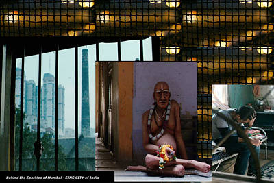 Mixed Media - What Is Behind The Glamour And Sparkles Of Sin City Mumbai by Navin Joshi