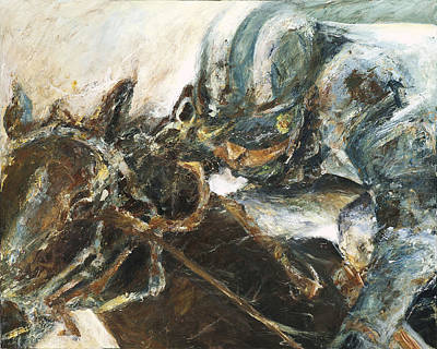 Racehorse Painting - What It Takes To Win by Francine Stuart