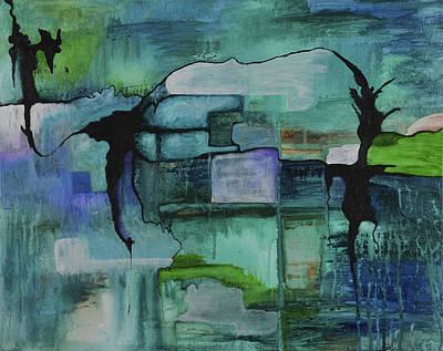 What Lies Beneath Art Print by Sherri Hanna