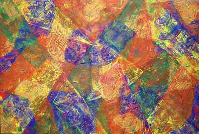 Painting - What Lies Beneath by Sophia Elise