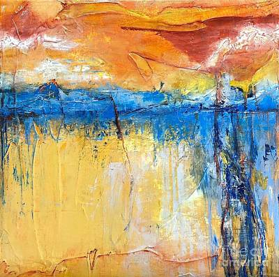 Painting - What Lies Beyond by Mary Mirabal