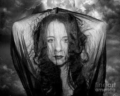 Photograph - What Lies Beyond The Veil by Heather King