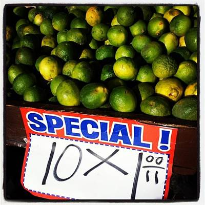 Photograph - What Lime Shortage? #dontbelievethehype by Jim James