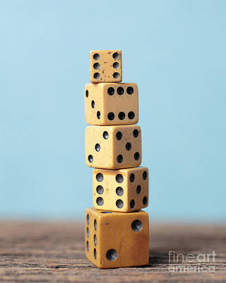 Math Photograph - What Luck Got To Do With It by Edward Fielding