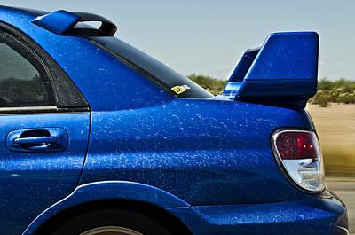 Blue Subaru Photograph - What Makes A Subaru by Aaron Fink