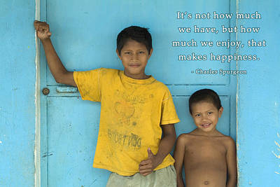 Photograph - What Makes Happiness? by David Simchock