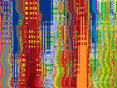 Grow Digital Art - What On Earth Metropolis by Ann Johndro-Collins