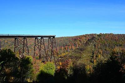 Kinzua Photograph - What Once Was  by Shelley Smith