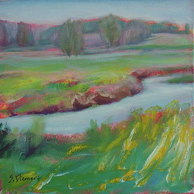 Painting - What Pilkington Overlook Overlooks - 016 Of Celebrate Canda 150 by Sheila Diemert
