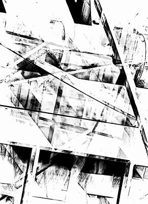 Abstract Digital Art Photograph - What Remains by Tom Gowanlock