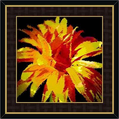 What Says Love More Clearly Than A Beautiful Flower Print by Debra Lynch