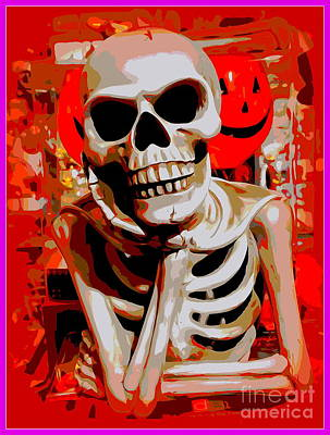 Digital Art - What Should I Be For Halloween by Ed Weidman