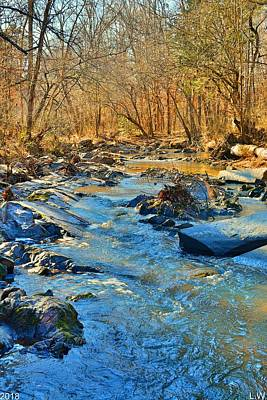 Photograph - What Streams Are Made Of by Lisa Wooten