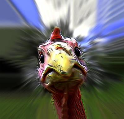 Hbo Digital Art - What The Duck Paulie by Joe Paradis