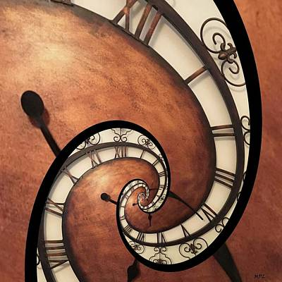 What Time Is It Mixed Media - What Time Is It? by Marian Palucci-Lonzetta