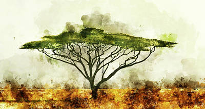 Wall Art - Digital Art - What Trees Do Best. by George Michael