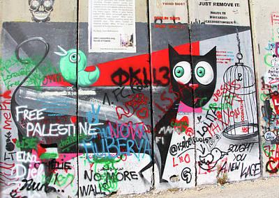 Photograph - What Wall by Munir Alawi