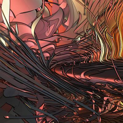 Recondite Digital Art - What Was by GT Graeff